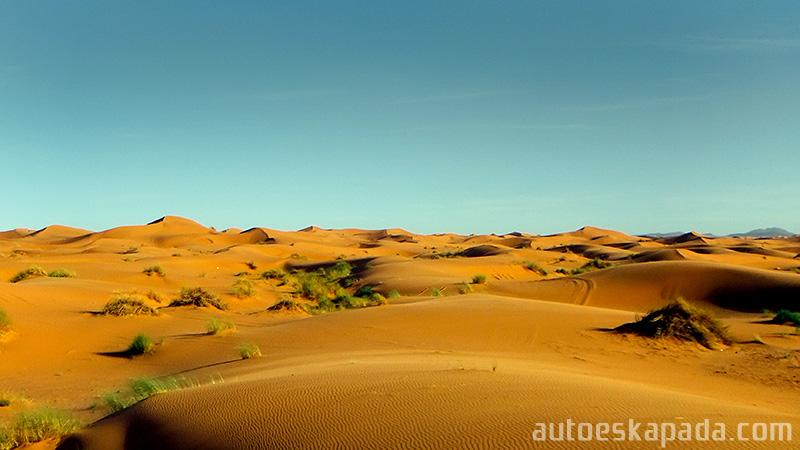"""Maroko 2011"" - Maroko, Erg Chebbi"